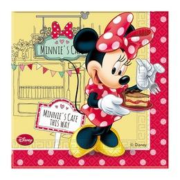 Minnie Cafe Parti Szalvéta - 33 cm x 33 cm, 20 db-os
