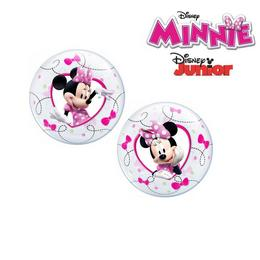 12 inch-es Minnie Egér Air Bubbles Lufi, 10 db-os