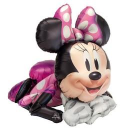 Minnie Egér - Minnie Mouse Sétáló Fólia Lufi