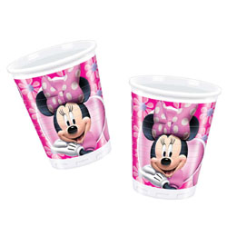 Minnie Eg�r Parti Poh�r - 200 ml, 10 db-os