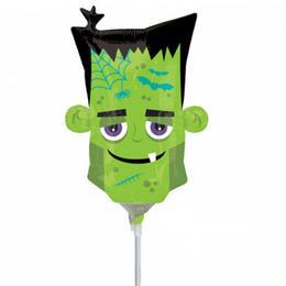 Monster Head - Frankenstein Mini Shape Fólia Lufi (5 db/csomag)
