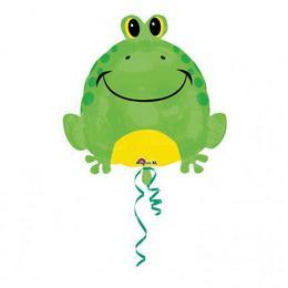 18 inch-es Happy Frog - Boldog Béka Fólia Lufi