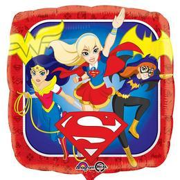 18 inch-es DC Super Hero Girls -Szuperhősnők  Fólia Lufi