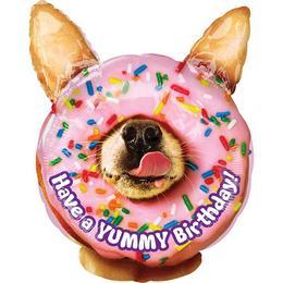 Yummy Birthday - Szülinapi Junior Shape Fólia Lufi