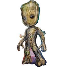 Baby Groot - A Galaxis Őrzői Super Shape Fólia Lufi