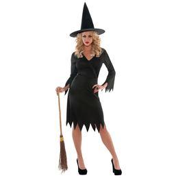 Női Boszorkány Jelmez Halloween-re. M-es