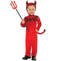 Ördög Jelmez Gyerekeknek Halloween-re. 3-4 Éveseknek 2738480e46