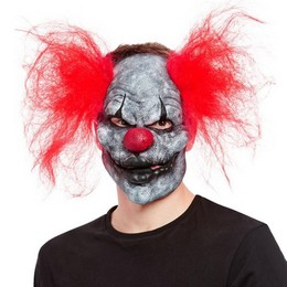Őrült Bohóc Maszk Halloween-ra