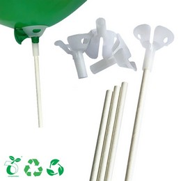 Papír Pálca Komposztálható Műanyagból Készült Csészével (100 db/csomag)