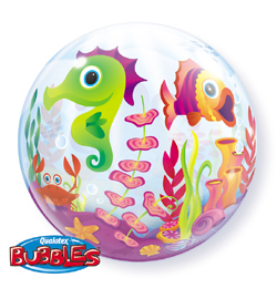 22 inch-es Tengeri Állatok - Fun Sea Creatures Bubble Lufi