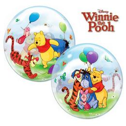 22 inch-es Micimackós Disney Bubbles Winnie The Pooh And Friends Lufi