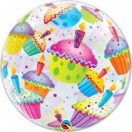 22 inch-es Muffinos - Cupcakes Bubble Lufi