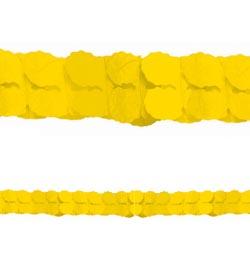 Sárga Papír Füzér - 3,6 m