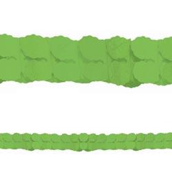 Zöld Papír Füzér - 3,6 m