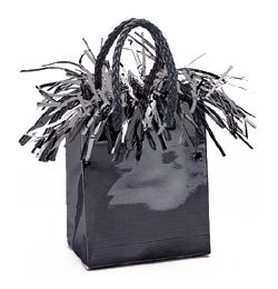 Fekete Mini Ajándéktasak Léggömbsúly - 160 gramm