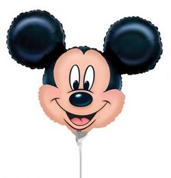 Mickey Mouse Mini Shape Fólia Lufi (5 db/csomag)