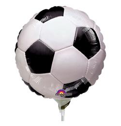 9 inch-es Foci Labda - Championship Soccer Fólia Lufi (5 db/csomag)