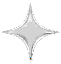 40 inch-es Ezüst - Starpoint Silver Fólia Lufi