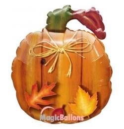 26 inch-es Harvest Pumpkin - Tök Formájú Fólia Lufi Halloweenre