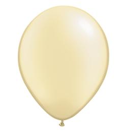 11 inch-es Pearl Ivory Kerek Lufi (25 db/csomag)