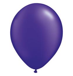 11 inch-es Pearl Quartz Purple Kerek Lufi (25 db/csomag)