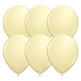 11 inch-es Ivory Silk (Fashion) Kerek Lufi (100 db/csomag)