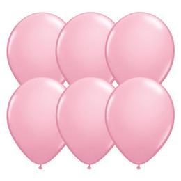 11 inch-es Pink - Rózsaszín (Standard) Kerek Lufi (25 db/csomag)