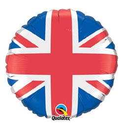 18 inch-es Union Jack - Nagy-Britannia - Fólia Lufi