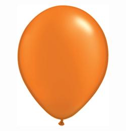 11 inch-es Pearl Mandarin Orange Kerek Lufi (25 db/csomag)