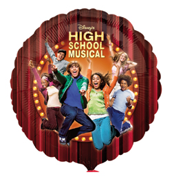 18 inch-es High School Musical Fólia Lufi