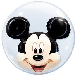 24 inch-es Disney Mickey Mouse Double Bubble Lufi