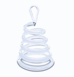 Víztiszta (Clear) Spirális Sétáló Léggömbsúly - 30 gramm