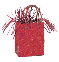 Piros Prismatic Mini Ajándéktasak Léggömbsúly - 160 gramm