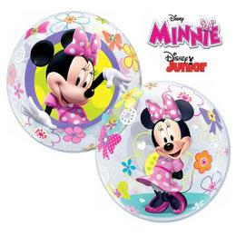 22 inch-es Disney Bubbles Minnie Mouse Bow-Tique Lufi