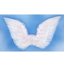 Fehér Toll Angyalszárny - 70 cm x 50 cm