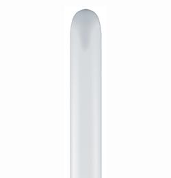 160Q White (Standard) Party Modellező Lufi (100 db/csomag)