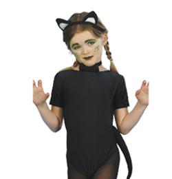 Fekete-Fehér Cica Szett Gyerekeknek