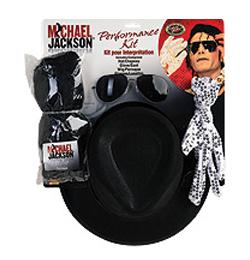 Michael Jackson - Jacko - Felnőtt Jelmezkellék Szett