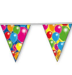 Balloons Parti Zászlófüzér - 10 m