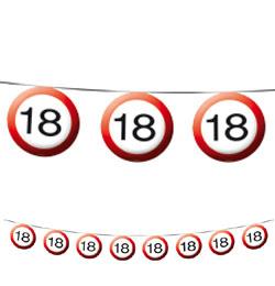 18 szülinapi party 18 as Sebességkorlátozó Szülinapi Parti Füzér   12 m | Léggömb és  18 szülinapi party