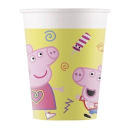 Peppa Malac - Peppa Pig Messy Play Parti Pohár - 8 db-os, 200 ml