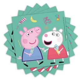 Peppa Malac - Peppa Pig Messy Play Parti Szalvéta - 33 cm x 33 cm, 20 db-os