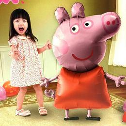 Peppa Pig Sétáló Fólia Lufi
