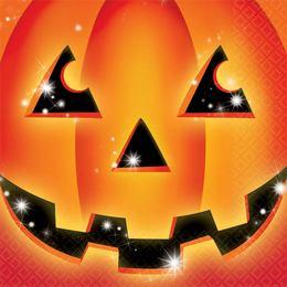 Perfect Pumpkin - Tök Mintás Parti Szalvéta - 33 cm x 33 cm, 16 db-os