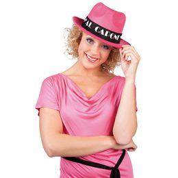 Pink Al Capone Parti Kalap