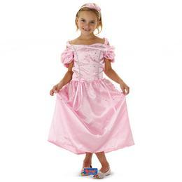 Pink Hercegnő Jelmez Gyerekeknek - S-es
