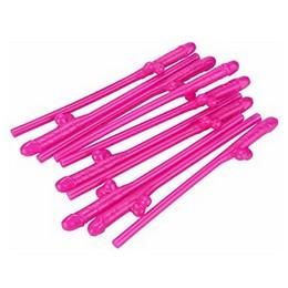 Pink Willy Szívószál Lánybúcsúra - 10 db-os