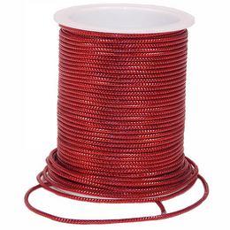 Piros Díszítő Kötöző Szalag - 10 m