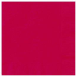 Ruby Red Papír Parti Szalvéta - 33 cm x 33 cm, 20 db-os