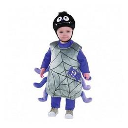 Pók - Itsy Bitsy Spider Gyerek Jelmez Halloweenre, 2-3 Éveseknek